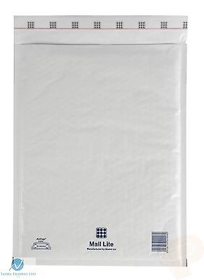 100 H5 H/5 White 270 x 360 mm Padded Bubble Wrap Mail Postal Bag Envelope NEW