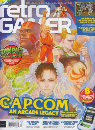 CAPCOM AN ARCADE LEGACY RETRO GAMER MAGAZINE ISSUE #217 UK 2021 STREET FIGHTER