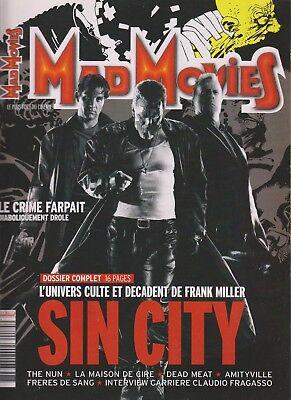 MAD MOVIES N°175 DOSSIER SIN CITY / THE NUN / LA MAISON DE CIRE / AMITYVILLE