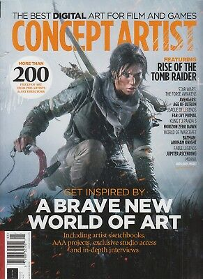 Concept Artist Issue 03 The Best Digital Art for Film and