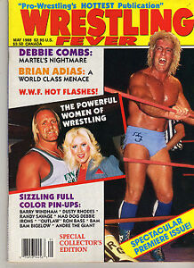 WRESTLING-FEVER-1-MAY-1988-RIC-FLAIR-HULK-HOGAN-BARRY-WINDHAM-BRET-HART-WWE-WWF
