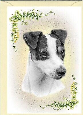 """Jack Russell Terrier Dog (4""""x6"""") Blank Card ideal for any occasion by Starprint"""