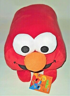 ELMO 40 cms Sesame Street Plush Soft Stuffed Doll Toy Cushion Pillow BRAND NEW