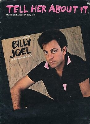 Tell Her About It - Billy Joel - 1983 USA Sheet Music