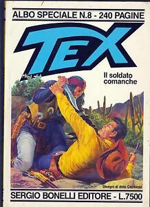 TEX-ALBO-SPECIALE-N-8-IL-SOLDATO-COMANCHE-TEXONE-N-8-DISEGNI-ALDO-CAPITANIO