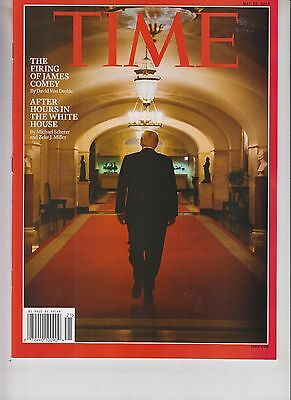 DONALD TRUMP TIME MAGAZINE MAY 22 2017 NO LABEL AFTER HOURS IN THE WHITE HOUSE