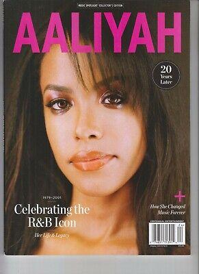 AALIYAH R & B ICON MAGAZINE 2021 CENTENNIAL MEDIA LEGEND REMEMBERED 20 YEARS