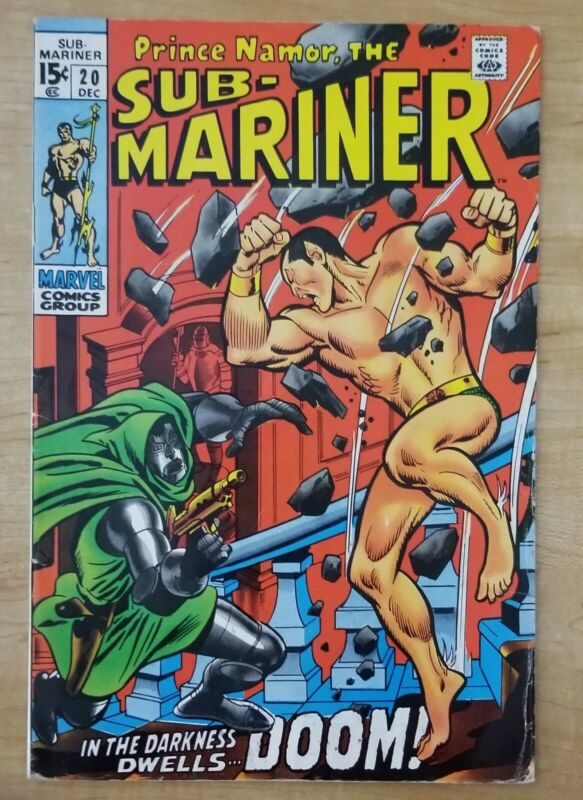 Sub-Mariner #20  Dr Doom  Marvel 1969