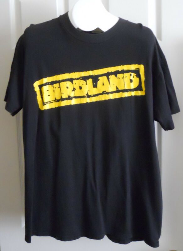 Birdland band used vintage 1991 T shirt Black XL Radioactive Records debut album