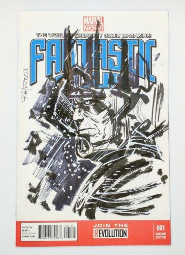 Marvel Fantastic Four #1 001 Variant Edition Original Artwork by Armando Ramirez