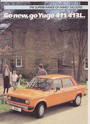 YUGO 411 / 413L Brochure - 1983