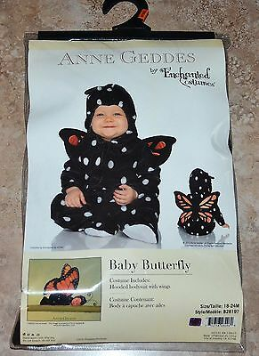 Anne Geddes Baby BUTTERFLY Halloween Toddler Costume Photo Props 18-24 m NIP (Butterfly Halloween Kostüme Baby)