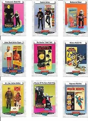 CLASSIC TOYS COMPLETE 66 TRADING CARD SET + PACK WRAPPER BATMAN FRANKENSTEIN '93 Classic Toys Trading Cards