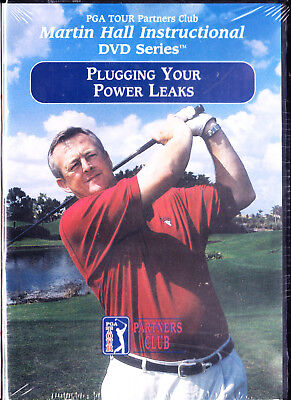 Pga Tour Partners Club  Plugging Your Power Leaks Martin Hall New  Dvd