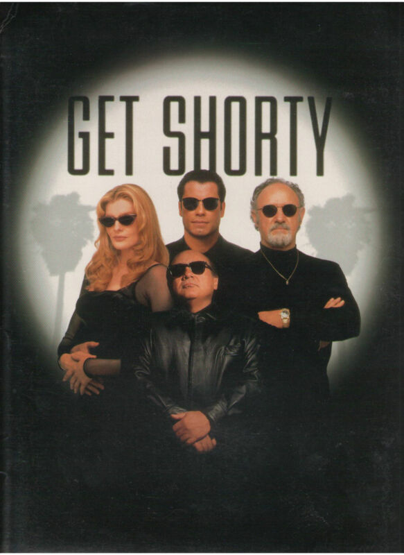 GET SHORTY PRESS KIT JOHN TRAVOLTA GENE HACKMAN RUSSO DeVITO FARINA LINDO SLIDES