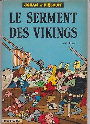 JOHAN et PIRLOUIT PEYO La pierre de lune (64) et Le serment des Vikings (64)