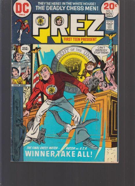 Prez #2-1973 fn DC Joe Simon Jerry Grandenetti
