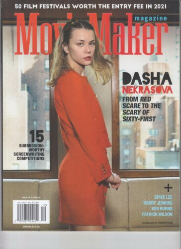 DASHA NEKRASOVA MOVIE MAKER MAGAZINE SPRING 2021 RED SCARE