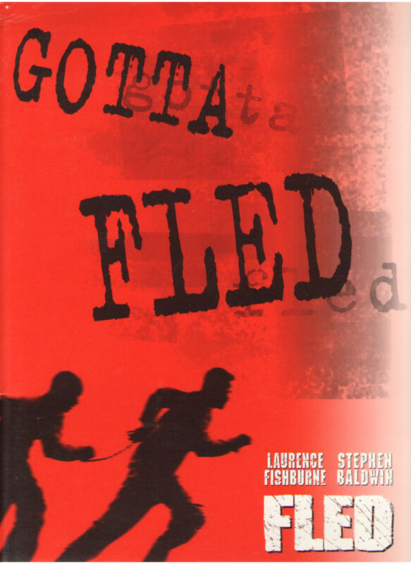 FLED PRESS KIT LAURENCE FISHBURNE STEPHEN BALDWIN WILL PATTON SALMA HAYEK RIVERS