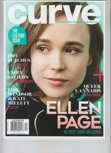 ELLEN PAGE CURVE MAGAZINE DEC 2017 JAN 2018 ELLIOT PAGE