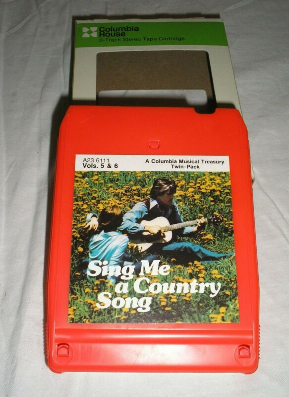 Sing Me A Country Song - Volumes 5 & 6 - 8 Eight Track Tape