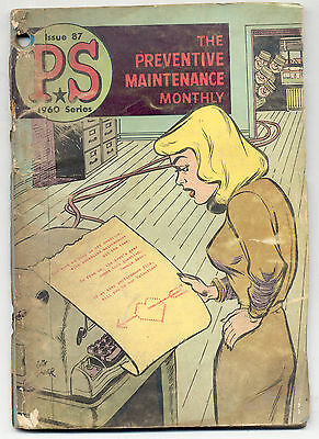 1960 Series PS The Preventive Maintenance Monthly Magazine Issue 87