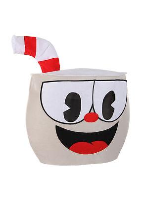 elope Cuphead Felt Character Mascot Head](Mascot Costumes)