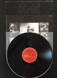 AC/DC Back In Black Original Oz 1980 Vinyl Record Album LP