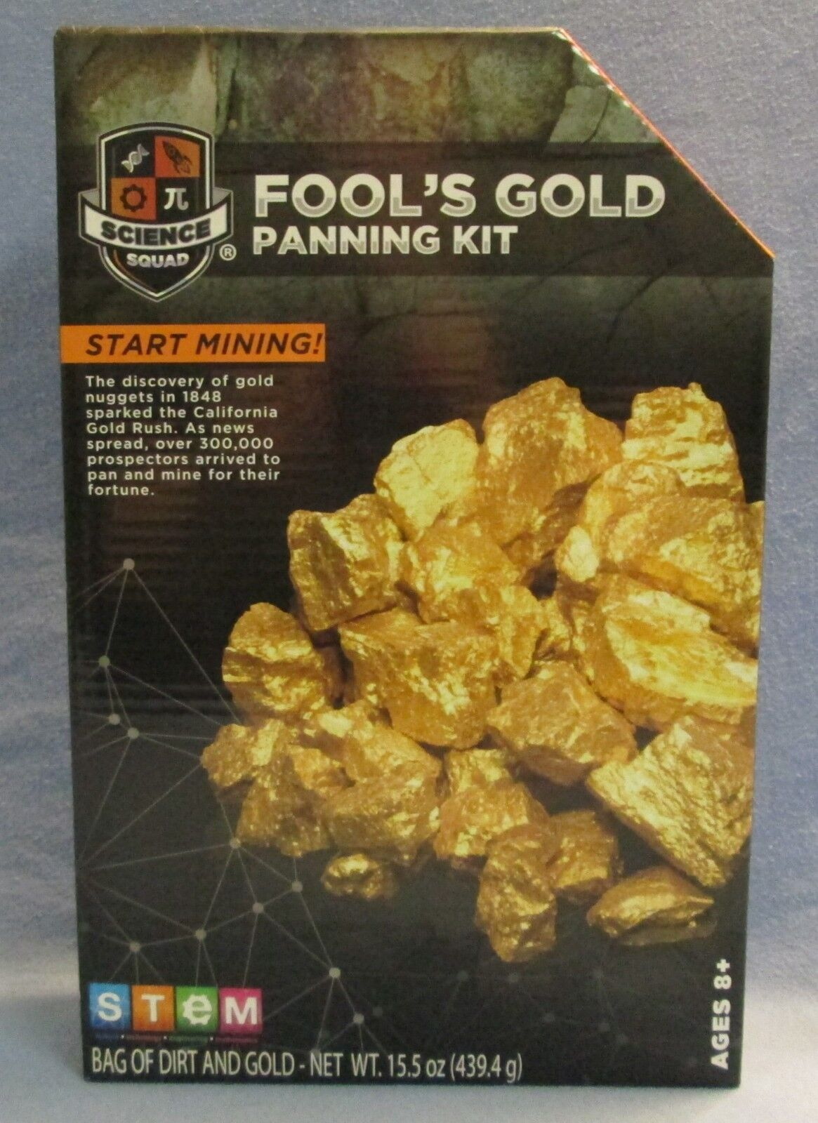 2018 Science Squad Stem Fools Gold Panning / Mining Learning