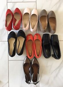 9 pairs of shoes/boots