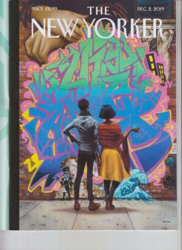 ART CONNOISSEURS THE NEW YORKER MAGAZINE DECEMBER 2 2019 NO LABEL