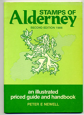 STAMPS OF ALDERNEY 2ND EDITION 1988 PRICED GUIDE AND HANDBOOK - 64 PAGES - NEW.