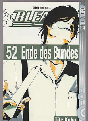 Bleach Manga Band 52 Ende des Bundes 1. Auflage 2012 TOP ungelesen