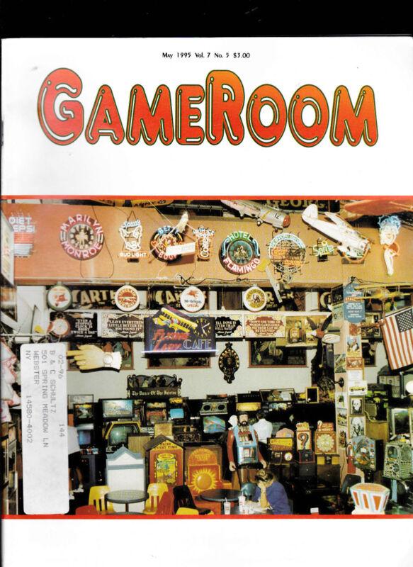 GameRoom Magazine Electro Williams CPU May 1995
