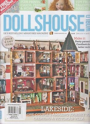 Dollshouse World June 2018 Issue 309 UK's Best-Selling Miniatures