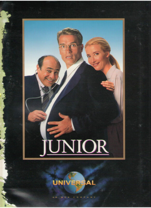 JUNIOR PRESS KIT ARNOLD SCHWARZENEGGER DANNY DeVITO EMMA THOMPSON LANGELLA REED