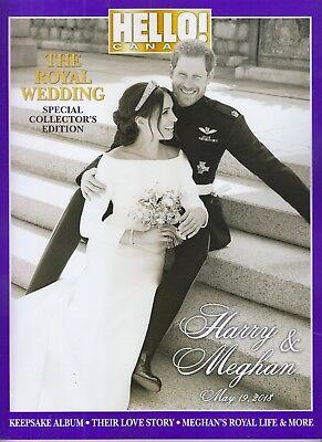 Royal Wedding May 19 2018 Harry Meghan Hello  Canada Special Collectors Magazine