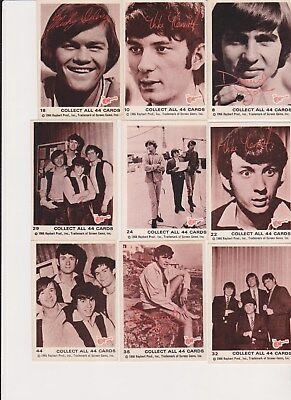 NICE 1966 1967 Raybert MONKEES PICK ONE /MULTIPLE CARDS NO CREASES NICE