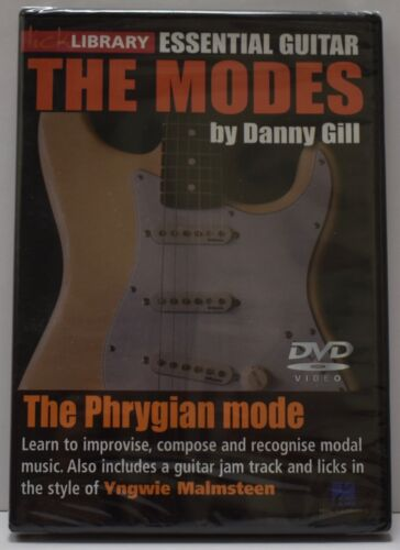 The Modes, The Phrygian Mode, Danny Gill DVD