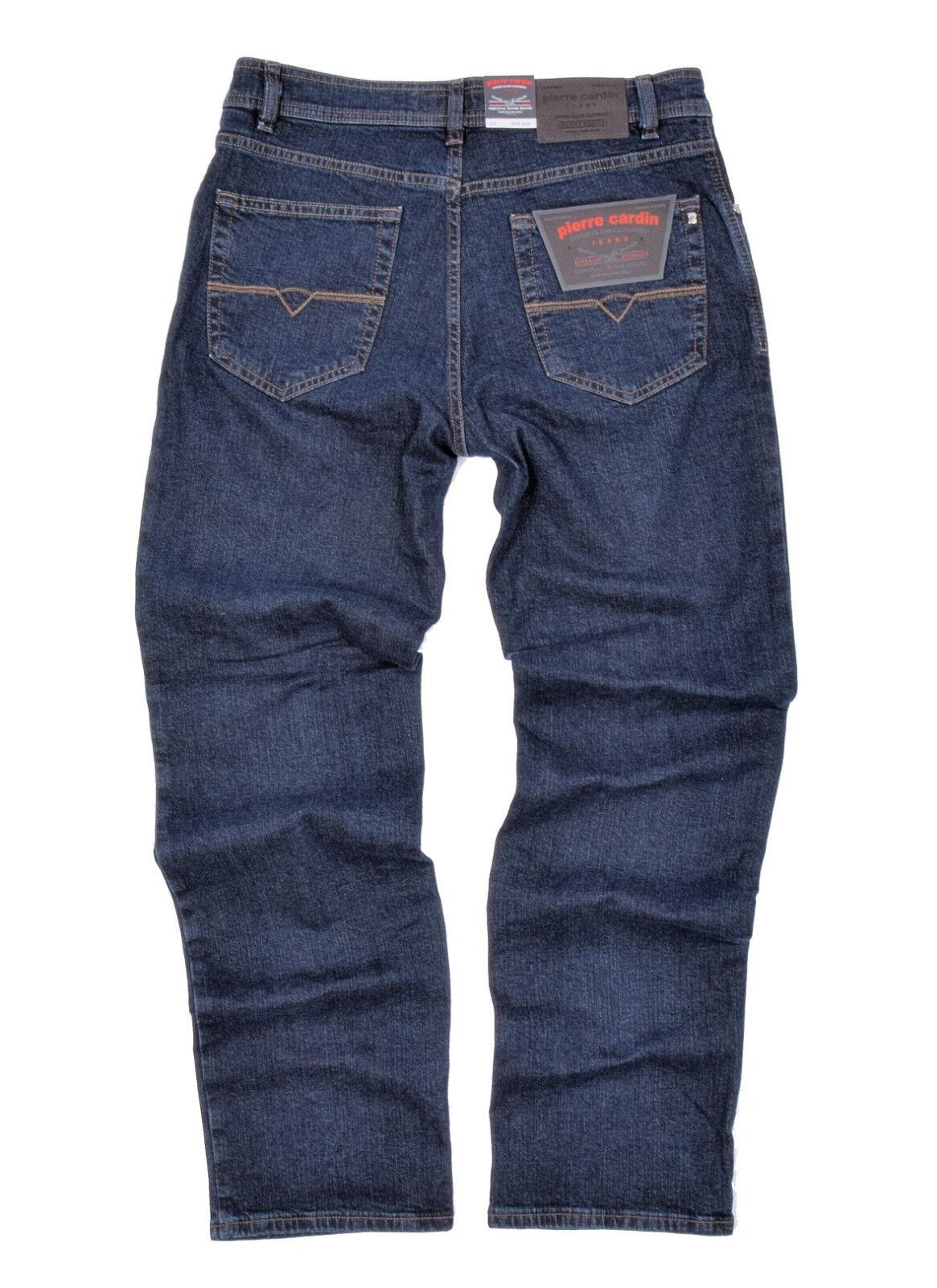 pierre cardin dijon herren regular stretch comfort jeans hoher bund hose ebay. Black Bedroom Furniture Sets. Home Design Ideas