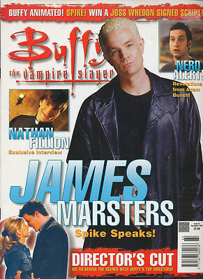 Buffy The Vampire Slayer Magazine September 2004 James Marsters Nathan Fillion