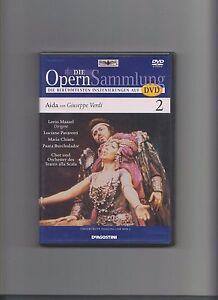 DVD Opernsammlung Aida Verdi Maazel Chiara Pavarotti Dimitrova Ghiaurov Pons