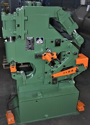 33 Ton Hill-acme Metalworker Hydraulic Ironworker - 28779