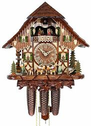 Adolf Herr Cuckoo Clock - The Tipsy Brothers AH 821/12 8TMT NEW