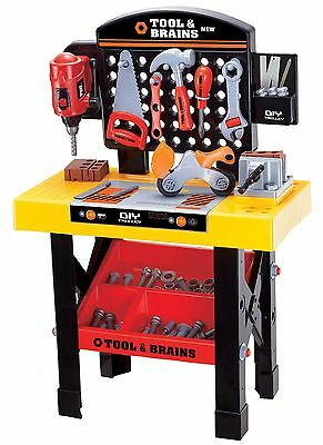 Lenoxx Tool & Brains DIY Play Tool Set