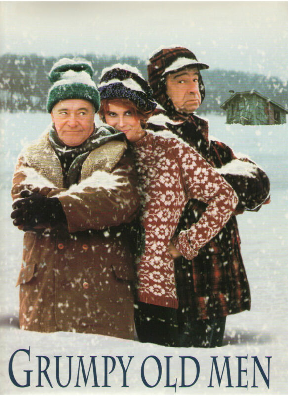 GRUMPY OLD MEN PRESS KIT ANN MARGRET JACK LEMMON WALTER MATTHAU HANNAH BURGESS
