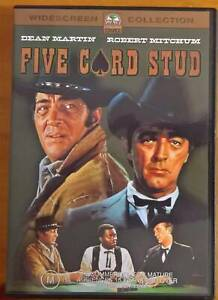 Five Card Stud (DVD 2003) Movie Widescreen Edition R4