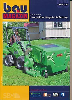 BauMagazin August 2010 (Hauptausgabe zu GaLaBau Automechanica)