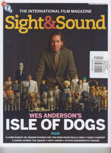 WES ANDERSON SIGHT & SOUND MAGAZINE APRIL 2018 ISLE OF DOGS
