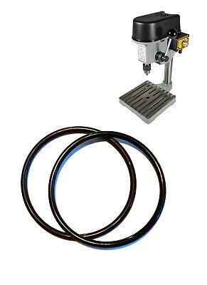 2 Pcs Drive Belt For Mini Benchhobby Drill Press Spare Jewellers Pcb 100080